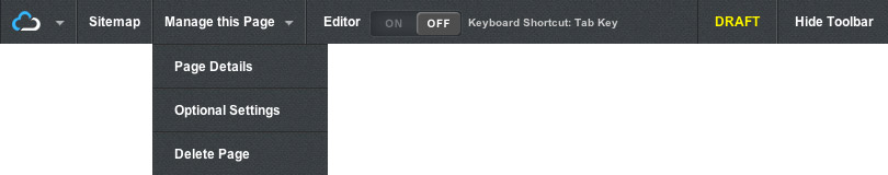 New Enso Toolbar with Dropdown Menu
